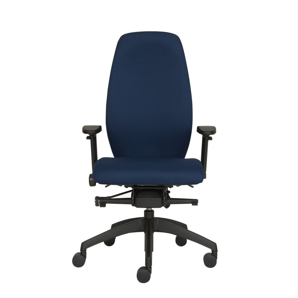 Positiv plus high back ergonomic chair from posturite for Office stool