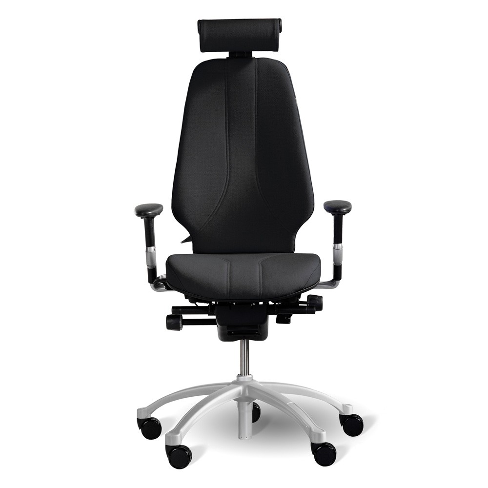 Office chairs for big and tall - Rh Logic 400 High Back Ergonomic Office Chair