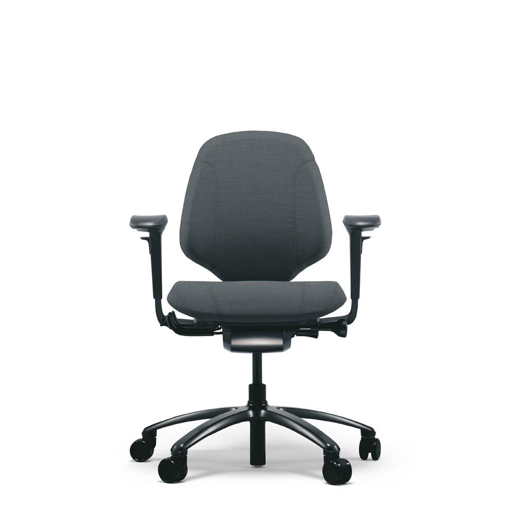 RH Mereo 200 Black Ergonomic Chair From Posturite