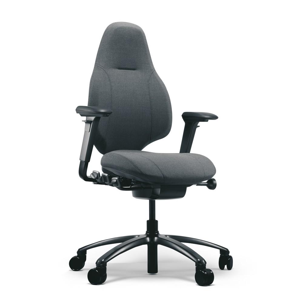 Rh Mereo 220 Black Ergonomic Chair From Posturite