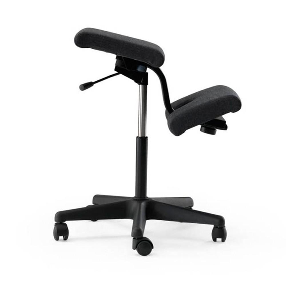 Wing balans kneeling ergonomic chair from posturite for Chair kneeling