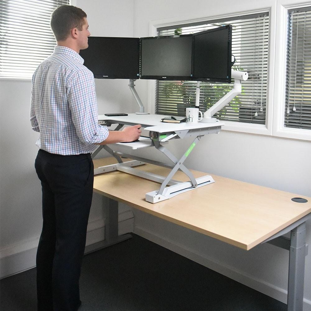 Deskrite 100 Sit Stand Platform And Standing Desk