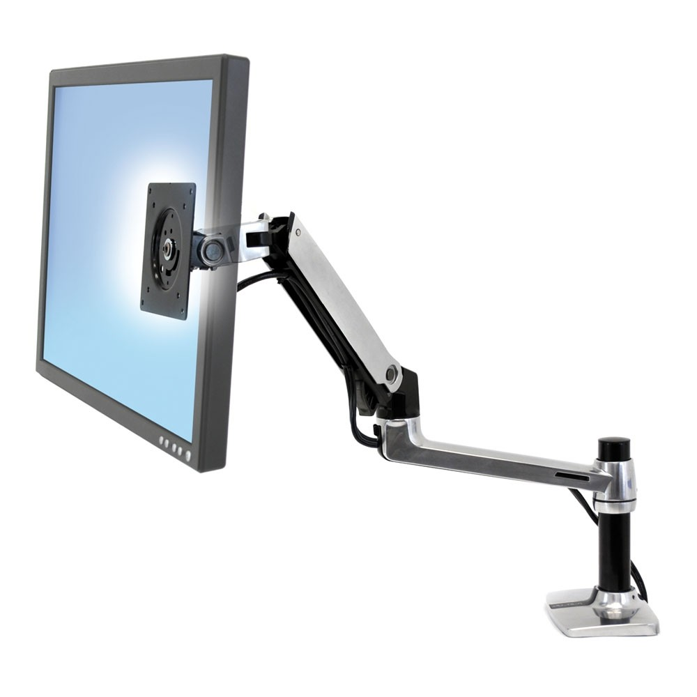 ergotron lx desk monitor arm from posturite rh posturite co uk