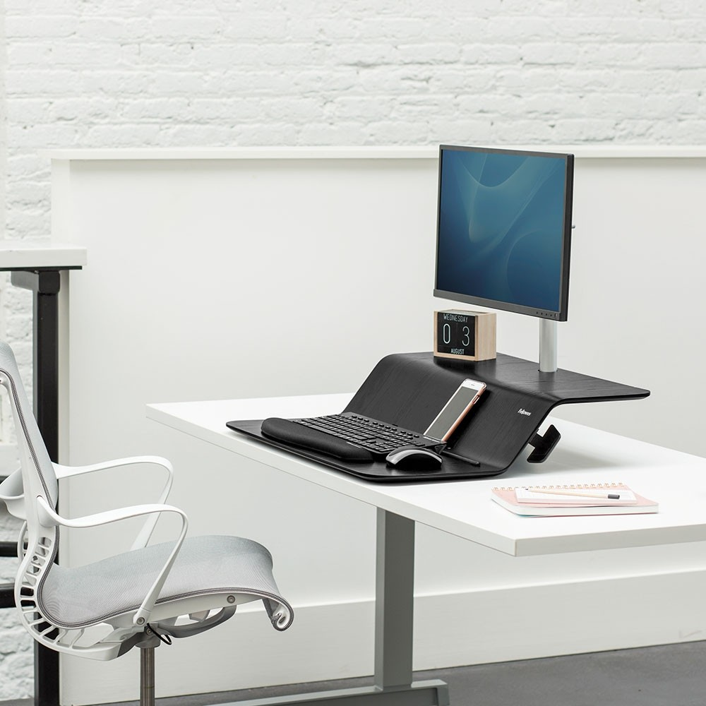 Lotus Rt Sit Stand Workstation From Posturite