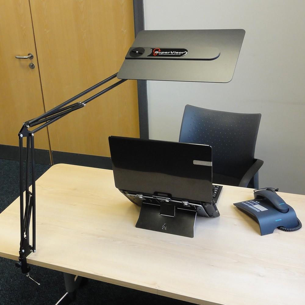 Supervisor Clamp Mount Anti Glare Screen From Posturite
