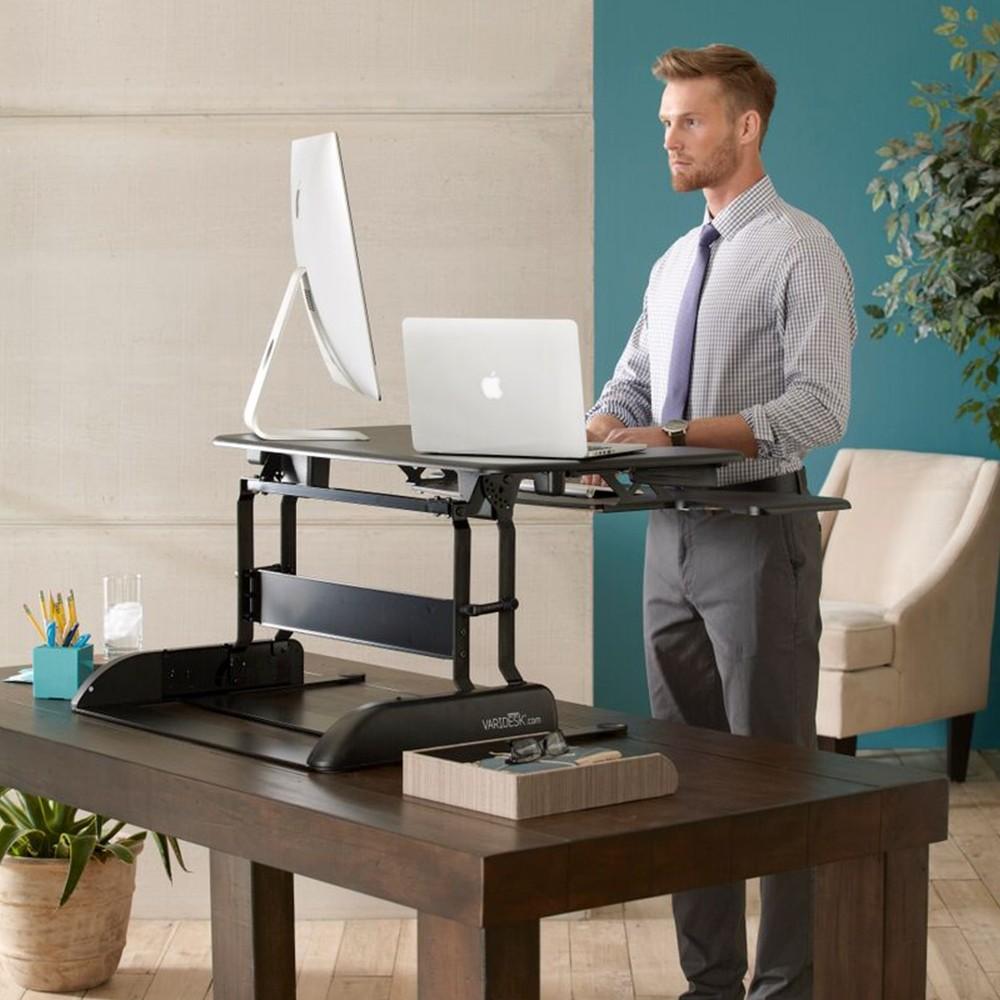 Varidesk Proplus 36 Dual Monitor Standing Desk Converter