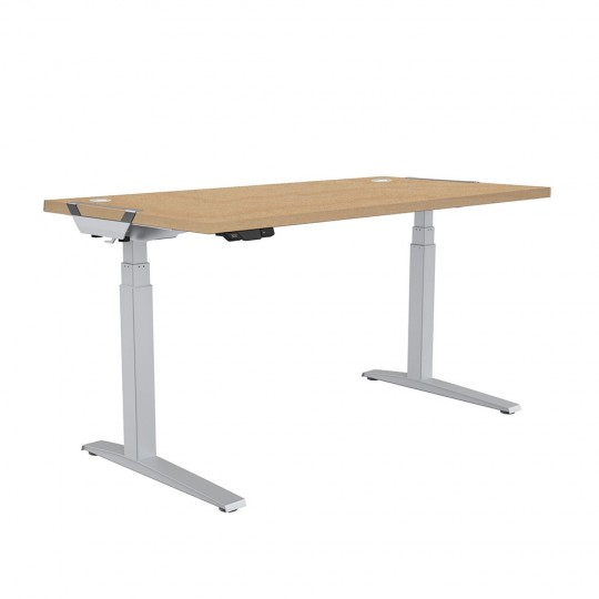 Levado™ Sit-Stand Desk - maple