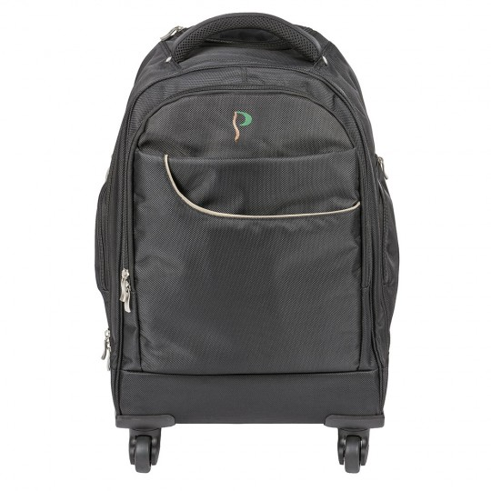 Posturite Executive 4 Wheel Trolley Backpack - front view
