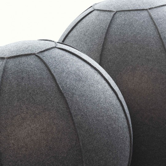 Ergo Ball with Fabric Handle - close up
