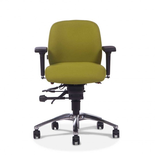 Adapt 610 Chair - with arms - front view