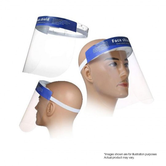 Visor Face Shield With Soft Padded Foam & Strap