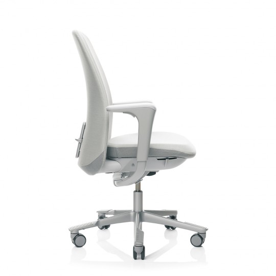 HAG SoFi 7320 Silver Frame High Back Task Chair - Light Grey
