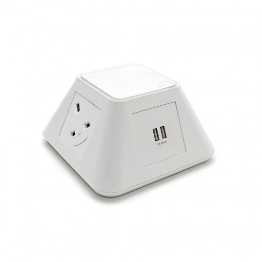 Inca Desktop Power Module - White