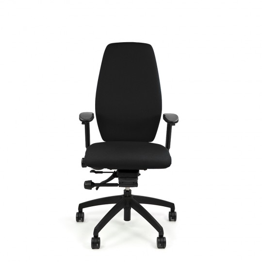 Positiv Plus High Back (including armrests) - Black
