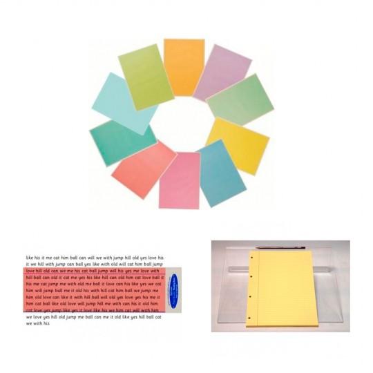 Refill, Reader Ruler & Overlay Bundle