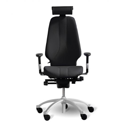 RH Logic 400 (including 8E armrests/neckrest) - Black