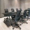 HAG SoFi 7510 Black Frame Mesh High Back Task Chair - lifestyle conference shot