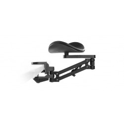 Ergorest 330 000 (Standard Clamp/Arm/Pad) - Black