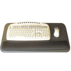 Combined Keyboard & Mouse Rest - front view
