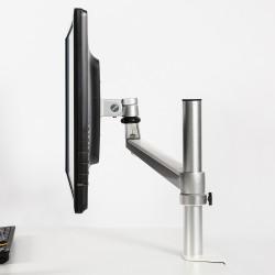 DeskRite 100 Single Monitor Arm - side view