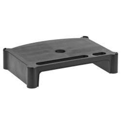 Flat Screen Monitor Posture Block - black block