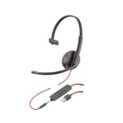 Plantronics Blackwire C3215 Monaural USB/3.5mm Headset