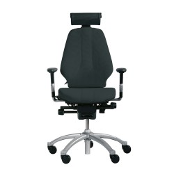 RH Logic 300 (including 8E armrests/neckrest) - Black