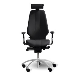 RH Logic 400 (including 8E armrests/neckrest) - Black
