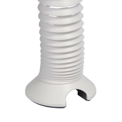 Spiral Cable Management Spine - White