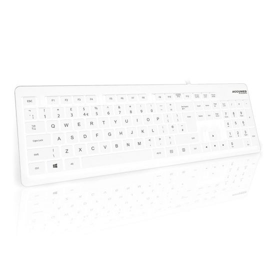 AccuMed Value Washable IP68 Medical Keyboard