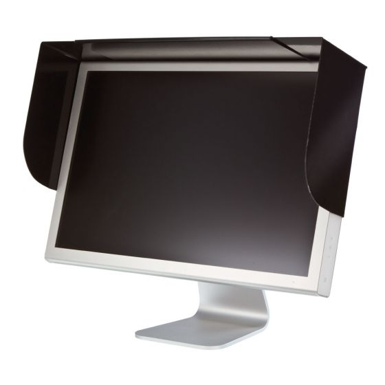 Adjustable Anti-glare Screen Hood for Flat Screen (Screen Filters)