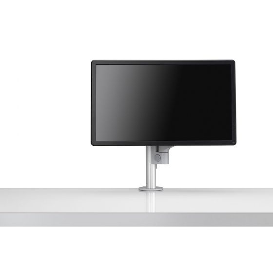 CBS Lima Monitor Arm - front view showing grey version