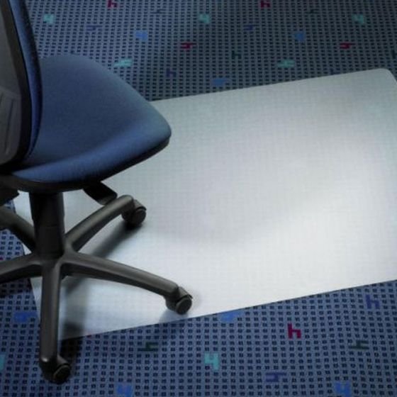Chair Mat for Carpeted Floors 900 x 1200mm - Clear