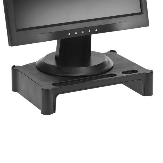 Flat Screen Monitor Posture Block - Black