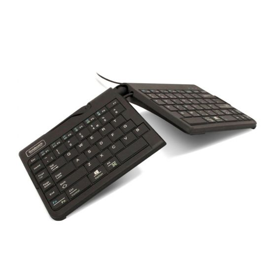 Goldtouch Go! 2 Mobile Travel Keyboard - Wired