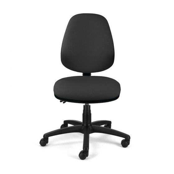 Homeworker Ergonomic Office Chair - front view, without armrests