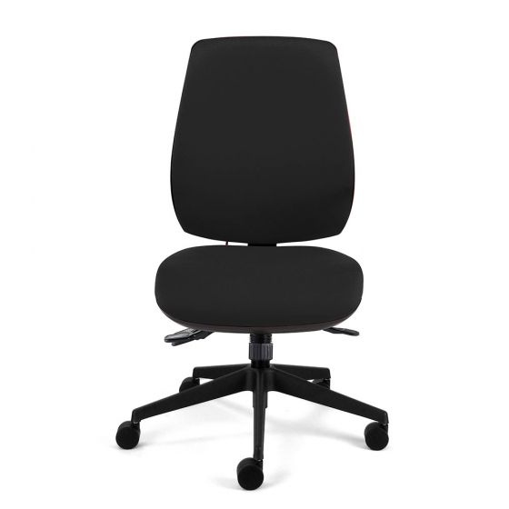 Homeworker Plus Ergonomic Office Chair - front view, without armrests