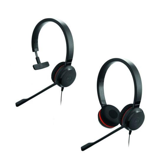 Jabra Evolve 30 II MS Mono NC Monaural and Jabra Evolve 30 II MS Stereo NC Binaural Headsets