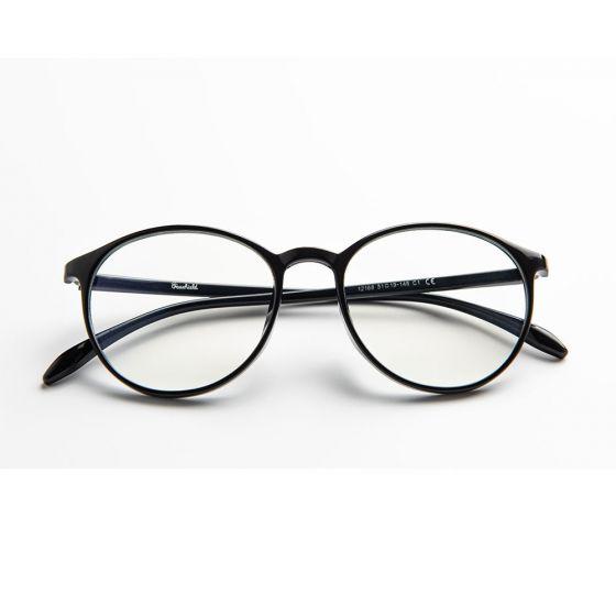 Carson Anti Blue Light Glasses - Shiny Black