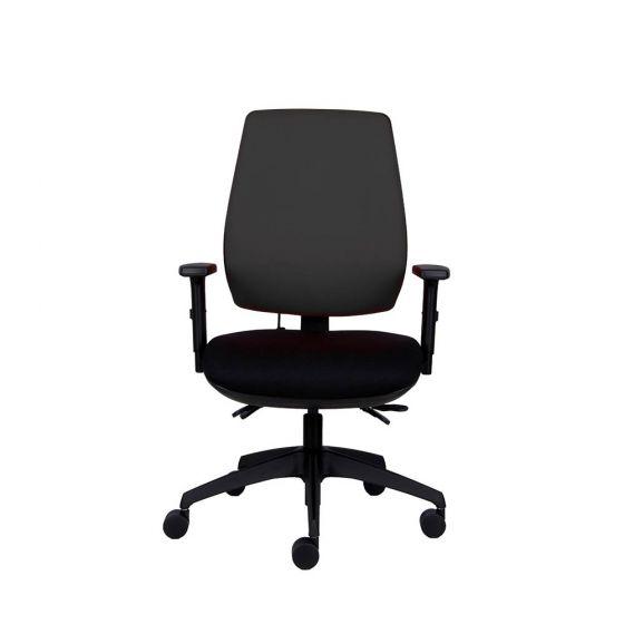 Positiv P-Sit High Back Ergonomic Chair - black - front view