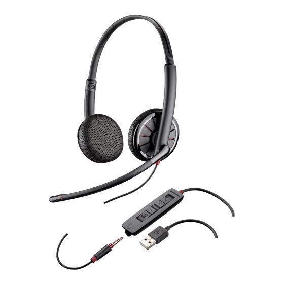 Plantronics Blackwire C325 Binaural USB/3.5mm Headset