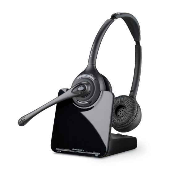 Plantronics CS520 Wireless Binaural Headset & Lifter