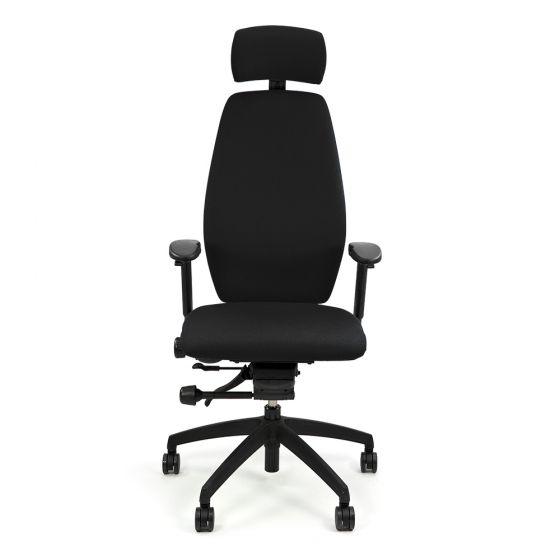 Positiv Plus High Back (including armrests/headrest) - Black