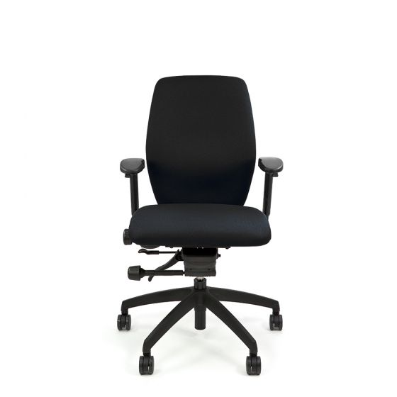 Positiv Plus Medium Back (including armrests) - Black