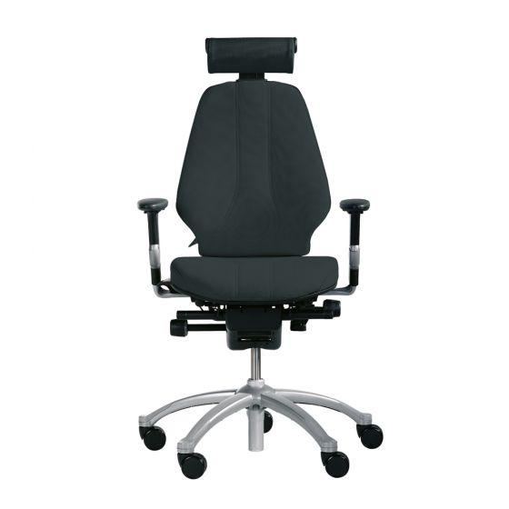 RH Logic 300 (including 8E armrests/neckrest) - Black