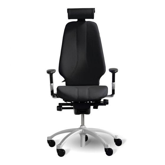 RH Logic 400 (including 8S armrests/neckrest) - Black