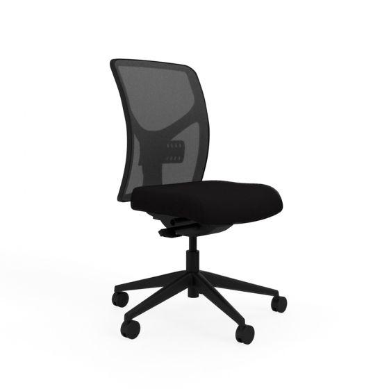 Responsiv RV100 Mesh Back Chair - side angle view