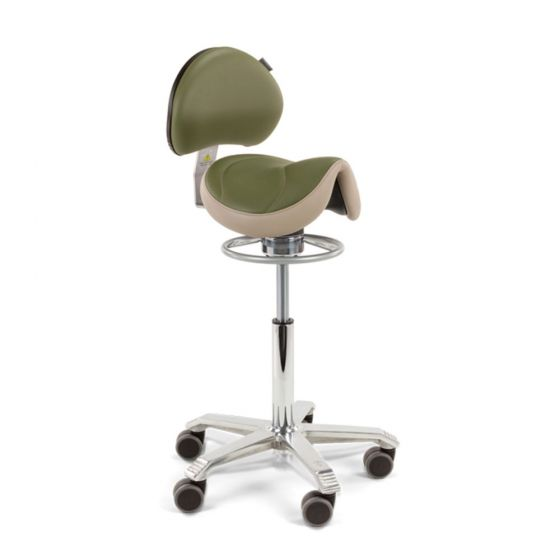 Score Amazone Balance Saddle Stool with Backrest