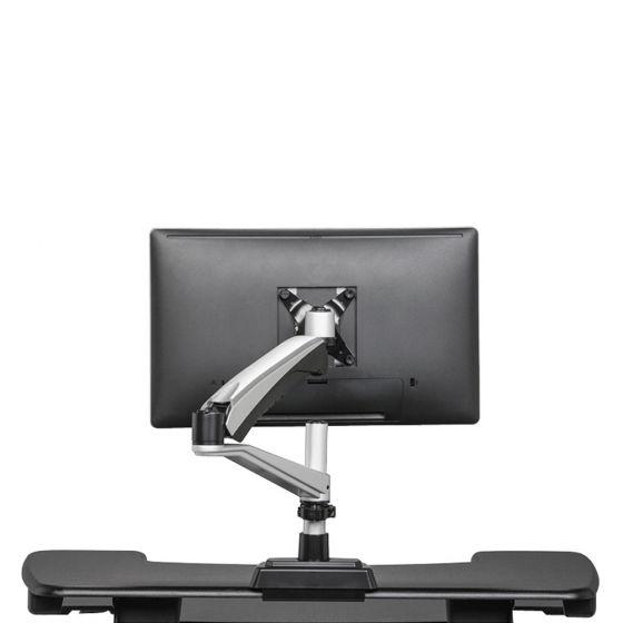 Vari® Single Monitor Arm for your VariDesk® - back view