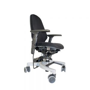 Hepro E2 Tilto EHR - Electric Lift with Tilt Chair - side view